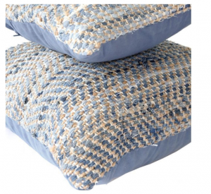 recycled fabric cushions